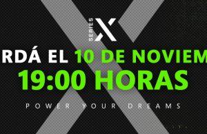 Hoy a las 19:00 Xbox celebra el lanzamiento de Series X S con un festival local.