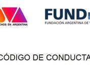 ADVA y FundAV redactan un Código de Conducta