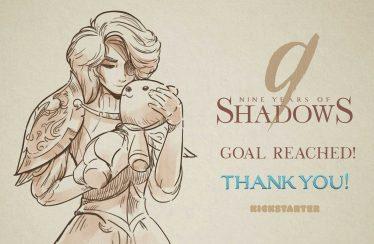 El metroidvania 9 Years of Shadows ya cumplió su primera meta de kickstarter.