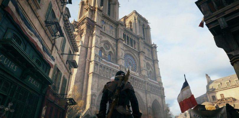Ubisoft entrega gratuitamente Assassin's Creed Unity y colabora con la restauración de Notre Dame.
