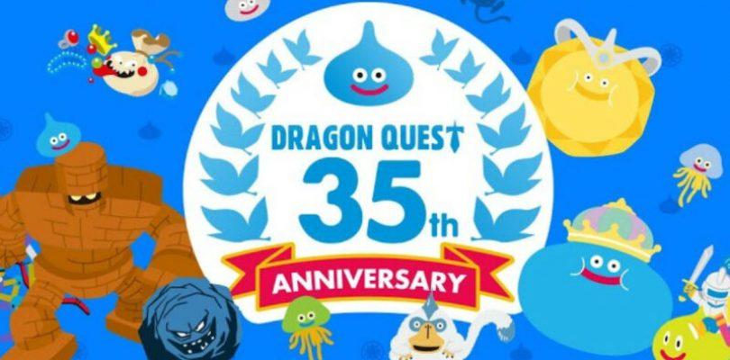 Nuevos anuncios sobre la saga Dragon Quest en su 35º aniversario.