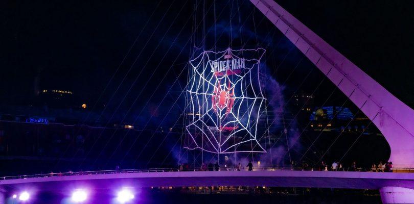 Marvel's Spider-Man Miles Morales tomó la ciudad de Buenos Aires.