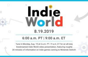 Nintendo Indie World: todas las novedades.
