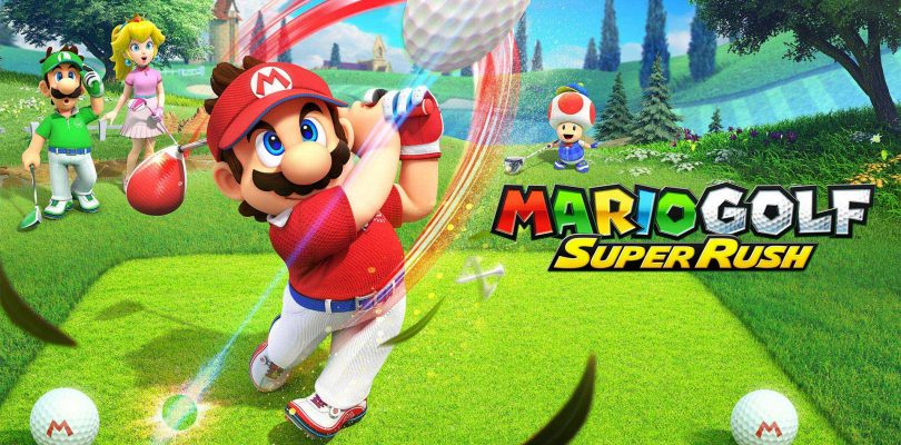 Nintendo revela un nuevo trailer de Mario Golf: Super Rush.