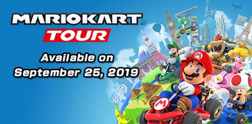 Mario Kart Tour será lanzado este 25 de septiembre en dispositivos móviles.
