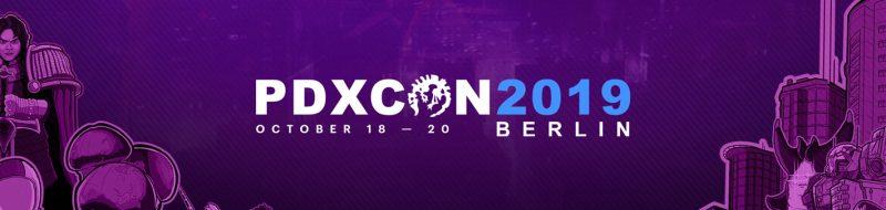 Nuevos anuncios de Paradox Interactive en la PDXCON 2019.