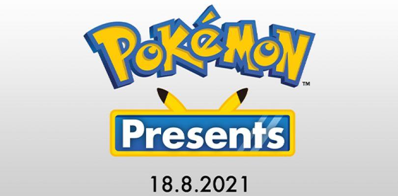 Todas las novedades del Pokémon Presents de agosto.