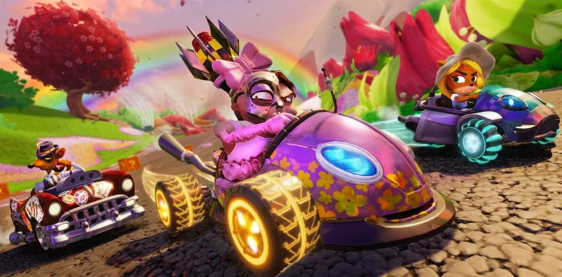 Crash Team Racing Nitro-Fueled suma modo de personalización.