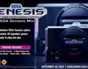 Sega anuncia la Sega Genesis Mini
