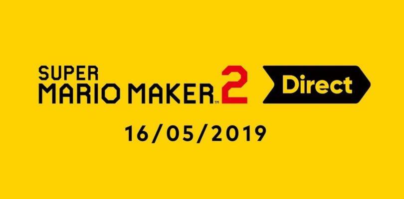 Super Mario Maker 2 tendrá su Nintendo Direct exclusiva este miércoles.