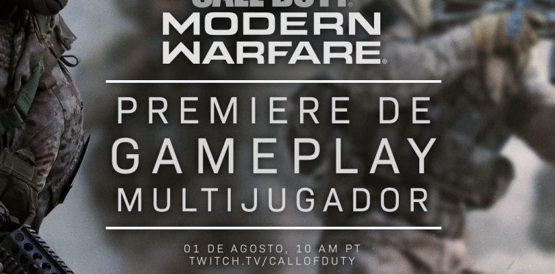 Call of Duty: Modern Warfare mostrará su multiplayer online en agosto.