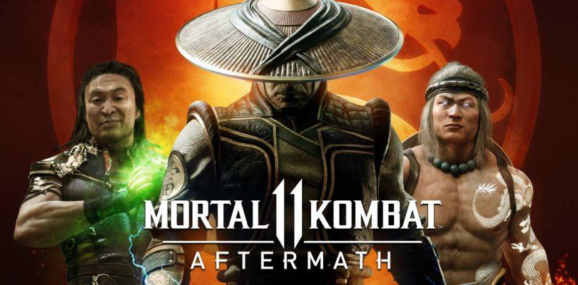 Johnny Cage nos cuenta la historia de Mortal Kombat.