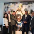 Diego Maradona es un nuevo embajador de PES para Konami