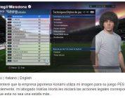Diego Maradona enfrentado a Konami
