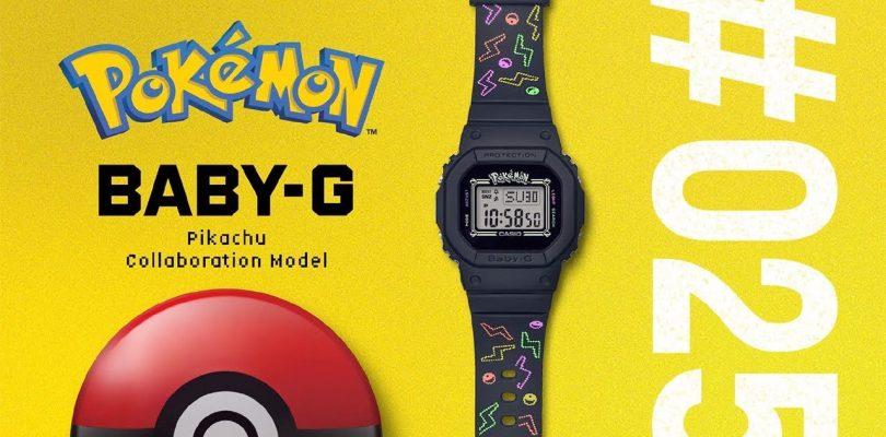 Pokémon y Baby-G lanzan una linea de relojes para celebrar el 25 aniversario de la marca.