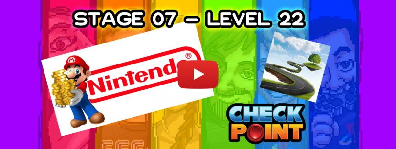 """Stage 07 – Level 22: """"Super Camino Entertainment System"""""""