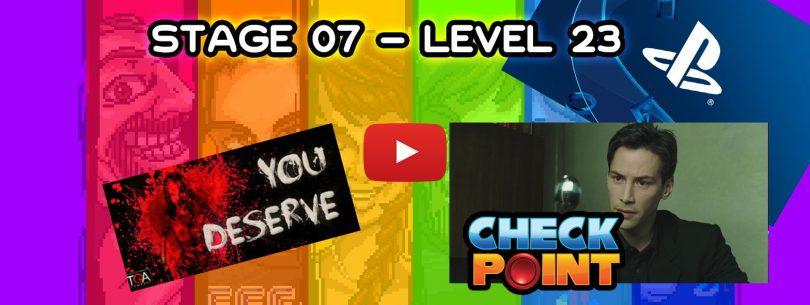"Stage 07 – Level 23: ""4K-samiento"""