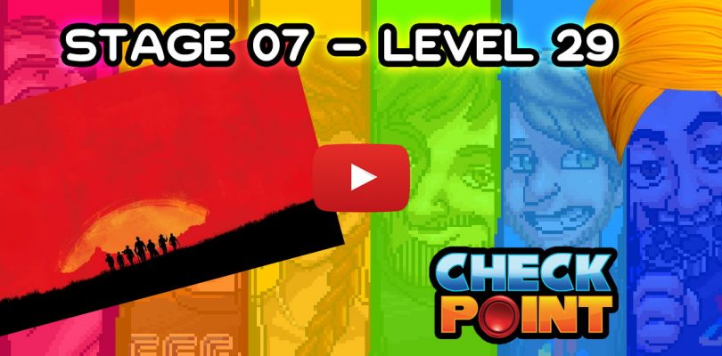 """Stage 07 – Level 29: """"Red Dead Canyon"""""""