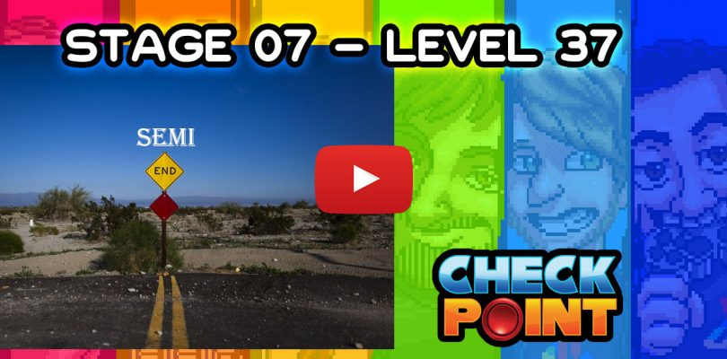 "Stage 07 – Level 37: ""Un pasito para el final"""