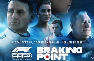 F1 2021 detalla su nuevo modo historia.