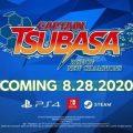 Captain Tsubasa: Rise Of New Champions lanza el 28 de agosto en PlayStation 4, Nintendo Switch, y Steam