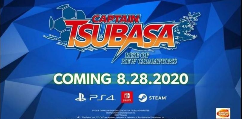 Captain Tsubasa: Rise Of New Champions lanza el 28 de agosto en PlayStation 4, Nintendo Switch, y Steam