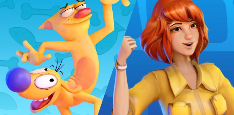 Catdog y April O'Neil también de unen a Nickelodeon All Star Brawl.
