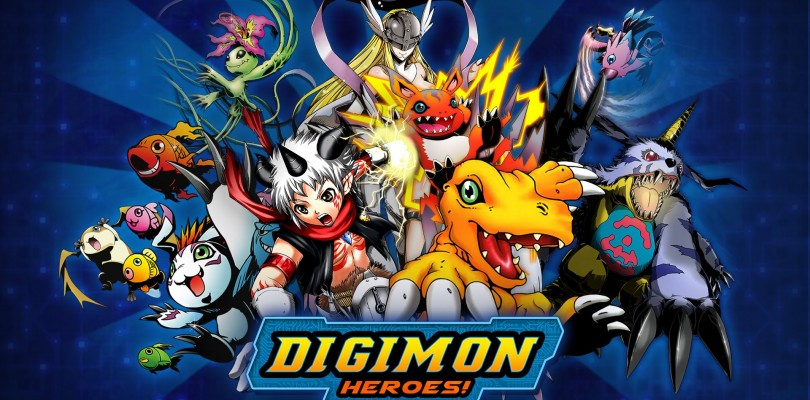 Digimon Heroes ya disponible.