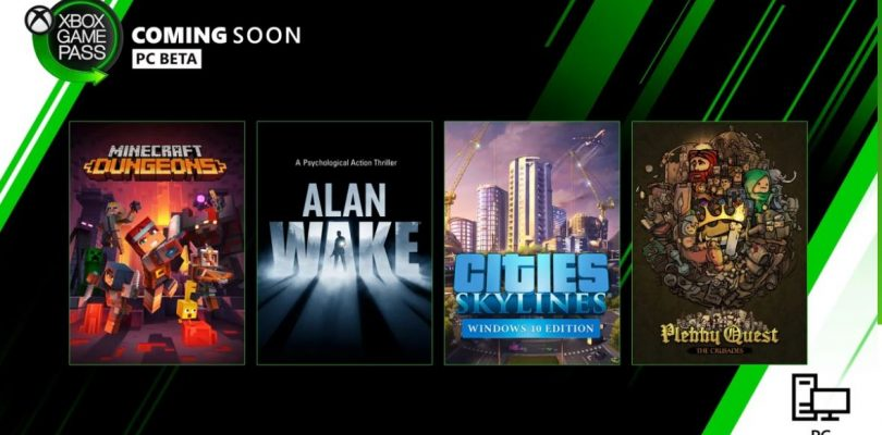 Alan Wake, Minecraft Dungeons y más se suman a Xbox Game Pass.