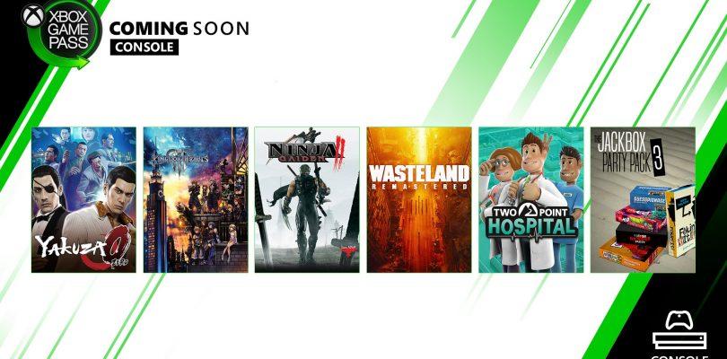 Kingdom Hearts 3, Yakuza 0 y más se suman a Xbox Game Pass