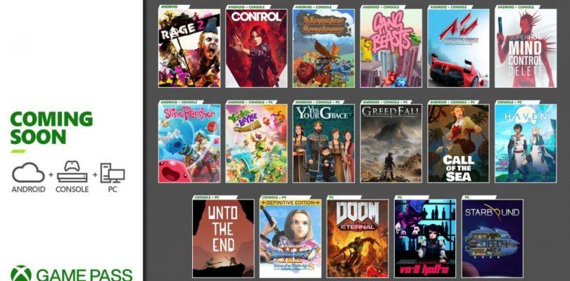 Control (y mucho más) llega a Xbox Game Pass.
