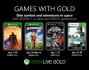 Microsoft presenta los Games with Gold de abril