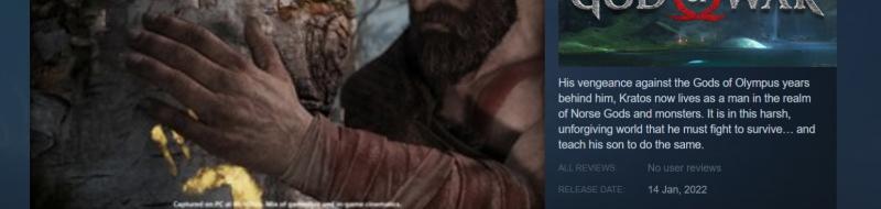 God of War llegará a PC (Steam/Epic) el próximo año.