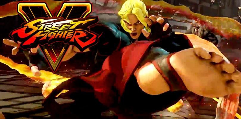Ken llega a Street Fighter V.