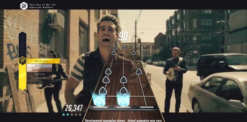 Guitar Hero más real que nunca.