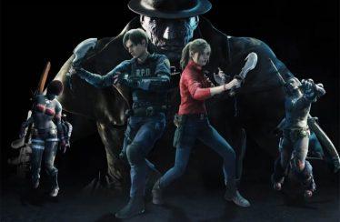 Leon y Claire llegan a Monster Hunter.