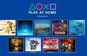 PlayStation anuncia una actualización de Play at Home con 10 juegos gratuitos