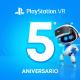 PlayStation celebra el quinto aniversario de VR