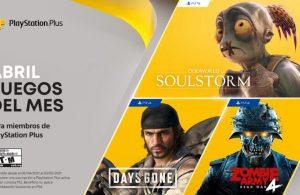 Anunciados los juegos para Playstaiton Plus de abril.