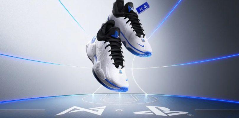 Playstation y Nike se asocian para crear un nuevo diseño de zapatillas.