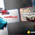 Anunciados los juegos para Playstation Plus en agosto.