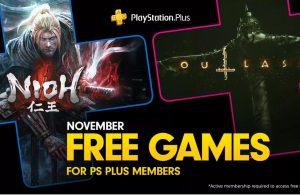 Anunciados los juegos para PS Plus en noviembre.