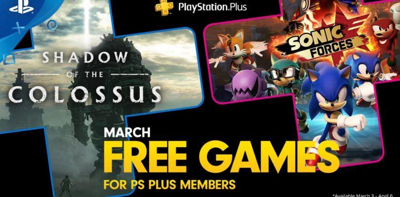 Anunciados los juegos para Playstation Plus en marzo.