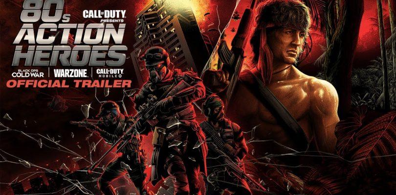 Rambo y Duro de Matar desembarcan en Call of Duty.