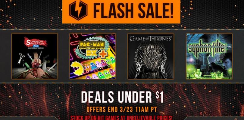 Flash Sale en PSN.