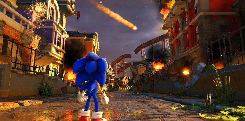 Sonic Forces, el nuevo Sonic.