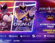 Ryu y Chun-Li son ¿Power Rangers?