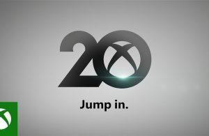 Xbox celebras su 20 aniversario con anuncios de sus próximos lanzamientos.